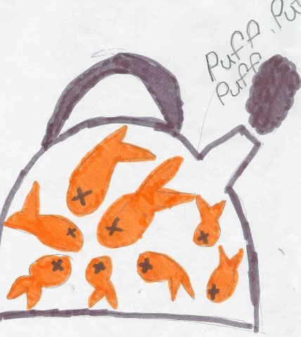 Idioms by kids for Kettle of fish