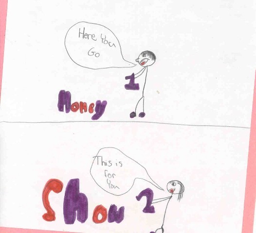 Idioms by kids - One for the money two for the show ...